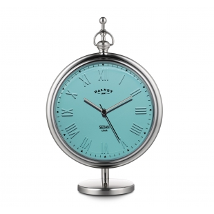 Sedan desk clock turquoise