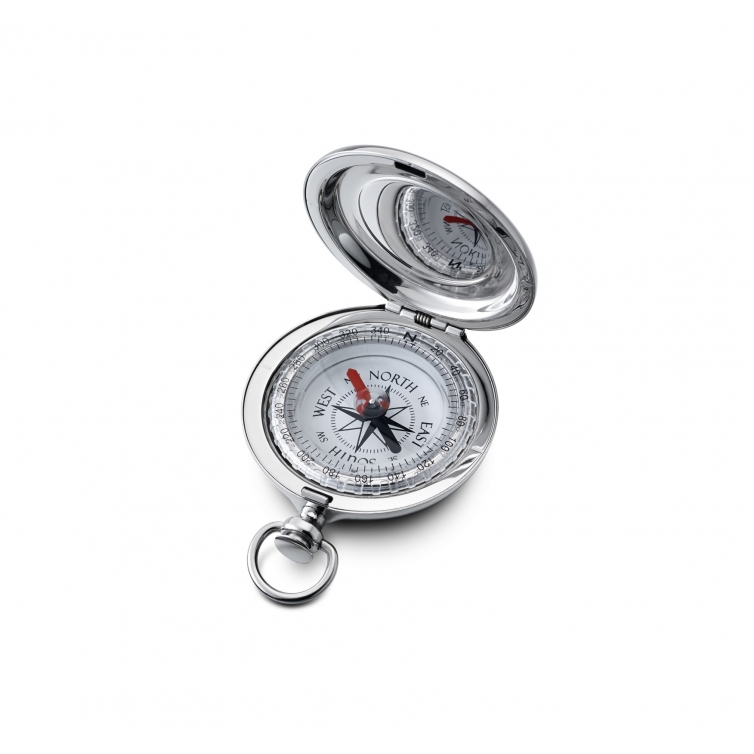 Classic Compact compass stainless steel DALVEY - 1