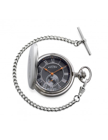 Full Hunter pocket watch Black Torque