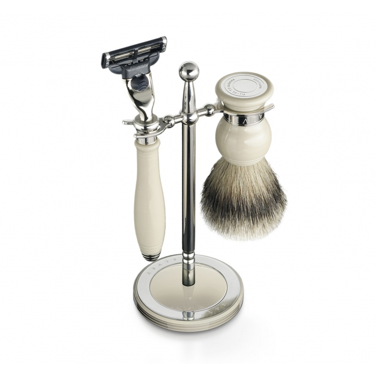 Classic shaving set and stand ivory DALVEY - 1