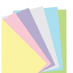 Pastel Plain Notepaper...