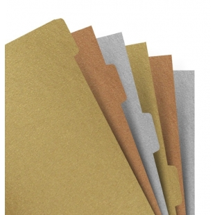 Notebook A5 Metallic index