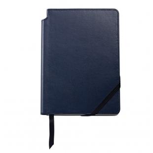 Classic Stredný zápisník modrý