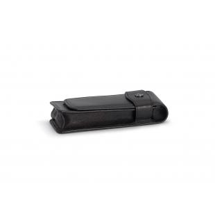 Flap Pouch for 2 long pens black KAWECO - 1