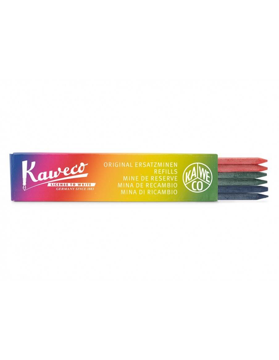 Tuhy do mechanickej ceruzky 3,2 mm 6 ks KAWECO - 2