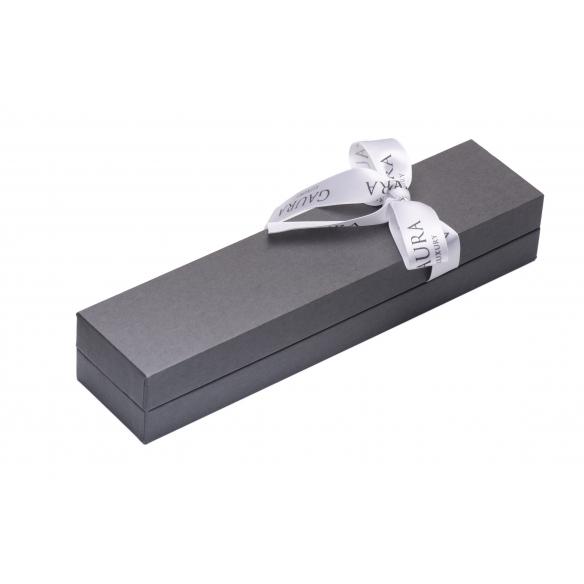 Three-row pearl necklace white GAURA - 3
