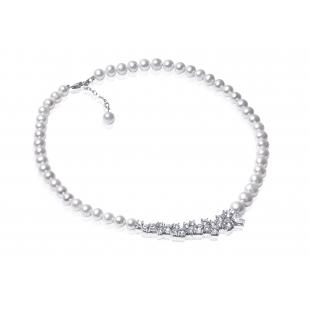 Perlový náhrdelník so...