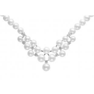 Combined pearl necklace...