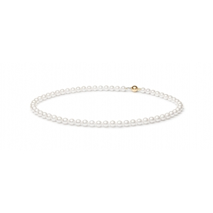 Akoya pearl necklace white GAURA - 1