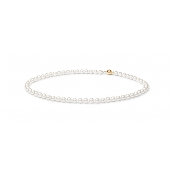 Akoya pearl necklace white