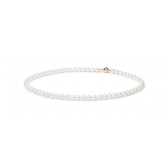 Náhrdelník z Akoya perel bílý