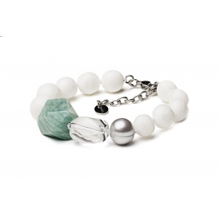 Pearl bracelet with...