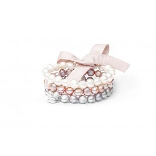 Three-row pearl bracelet...