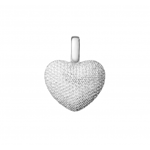 Heart-shaped pendant with...
