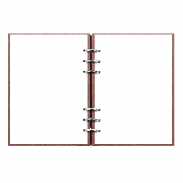 Clipbook Architexture Notebook A5 Terracotta FILOFAX - 3