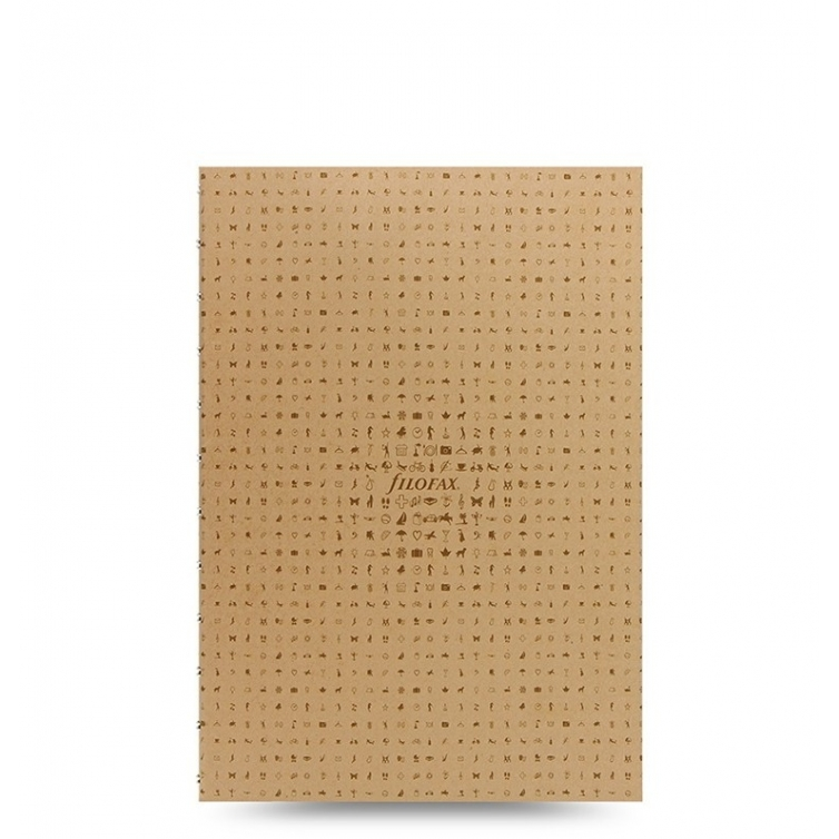 Notebook A5 Icon Refill Light brown FILOFAX - 1