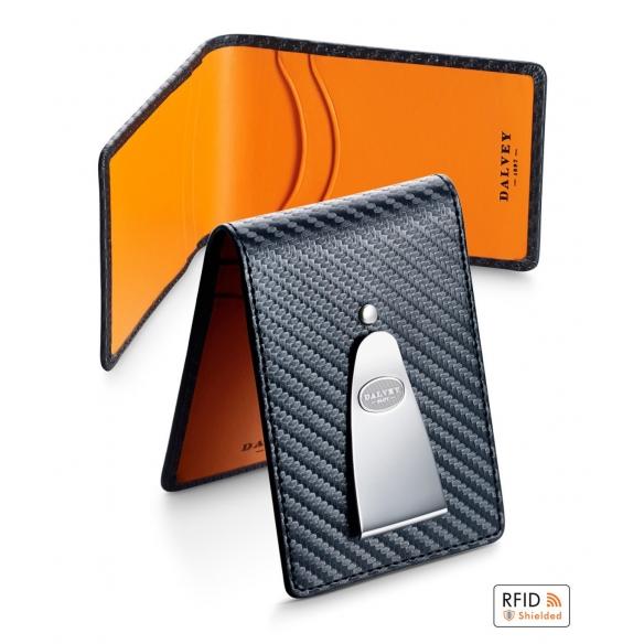 Insignia Gift set Carbon fibre/orange DALVEY - 2