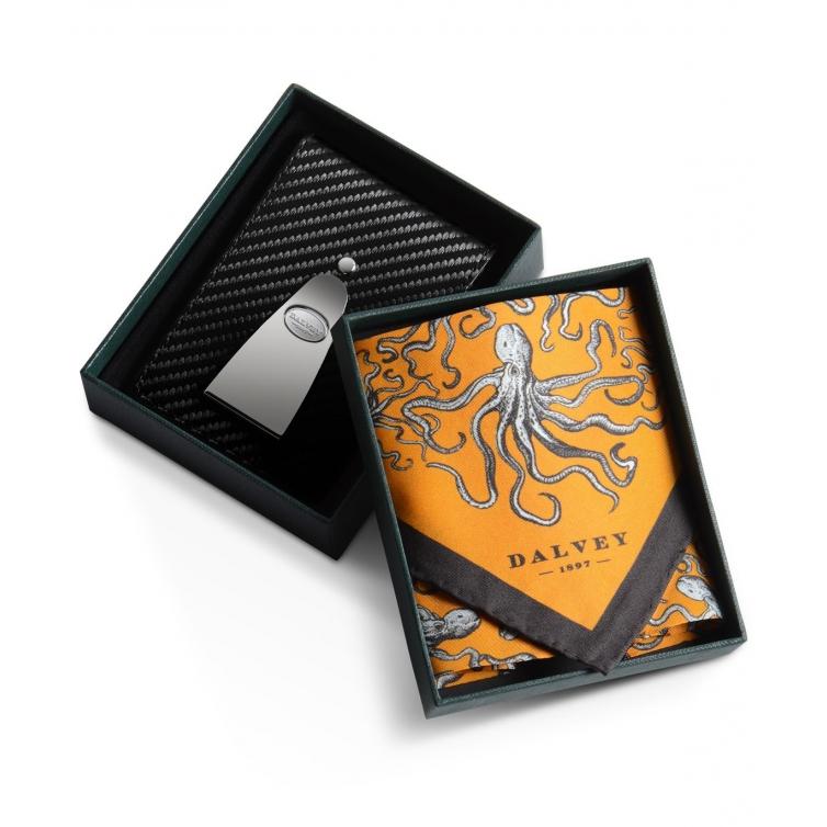 Insignia Gift set Carbon fibre/orange DALVEY - 1