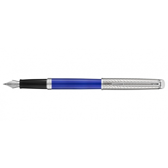 Hemisphere Deluxe Fountain Pen Blue WATERMAN - 1