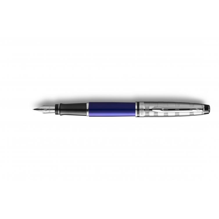 Expert Deluxe Fountain Dark Blue WATERMAN - 1