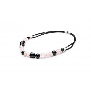 Perlový náhrdelník s onyxom