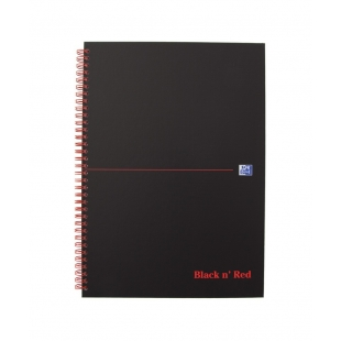 Black n Red Notebook A4...