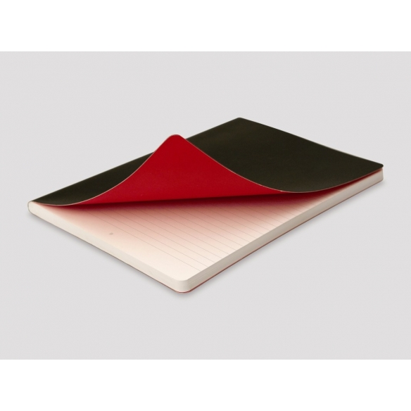 Black n Red Journal A5 Black Soft Cover OXFORD - 2