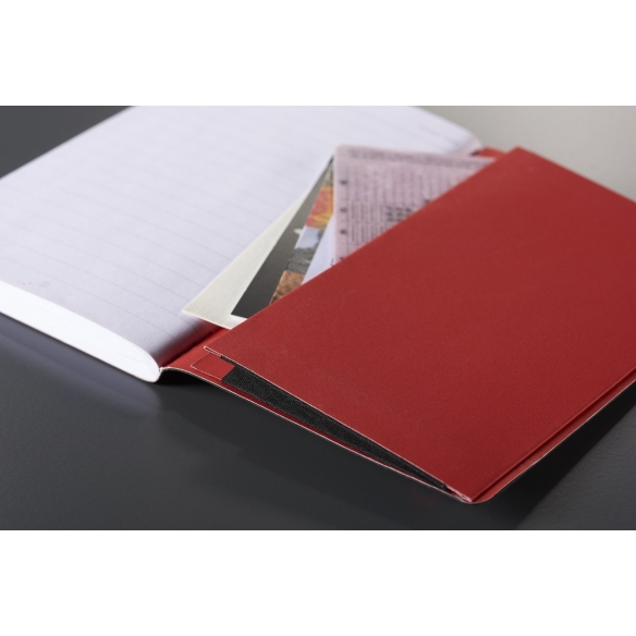 Black n Red Journal A5 Black Soft Cover OXFORD - 5