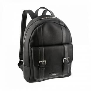 Line D Rounded Backpack Black