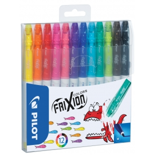FriXion Colors Set of 12 erasable pens PILOT - 1
