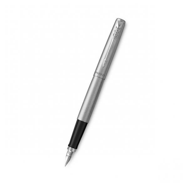 Jotter Stainless Steel CT Fountain Pen Silver PARKER - 1