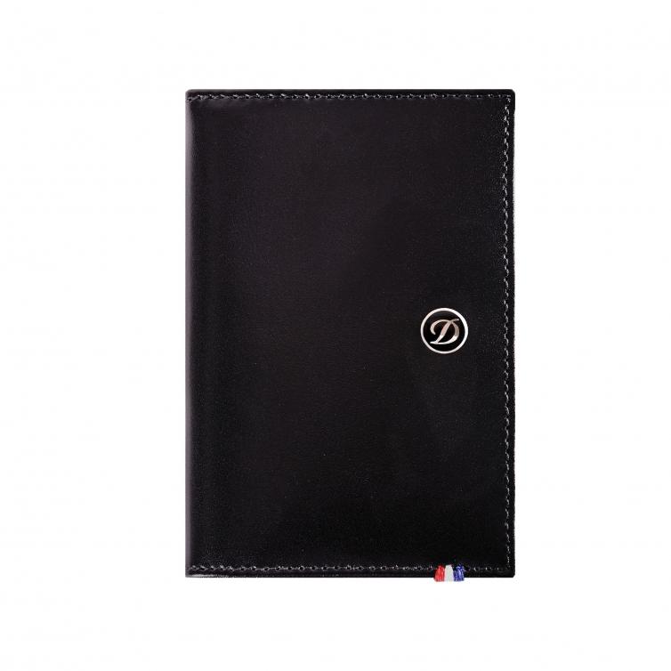 Line D Business Card Holder Black S.T. DUPONT - 1