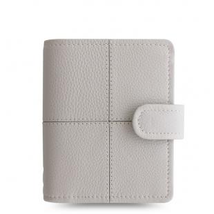 Classic Stitch Soft Organiser Pocket Grey FILOFAX - 1