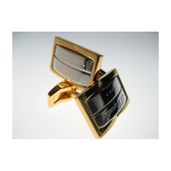 Gatsby Manžetové Gombíky Paládium-Žlté zlato S.T. DUPONT - 2