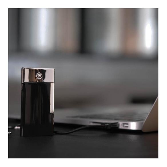 E-Slim Zapaľovač Čierny S.T. DUPONT - 4