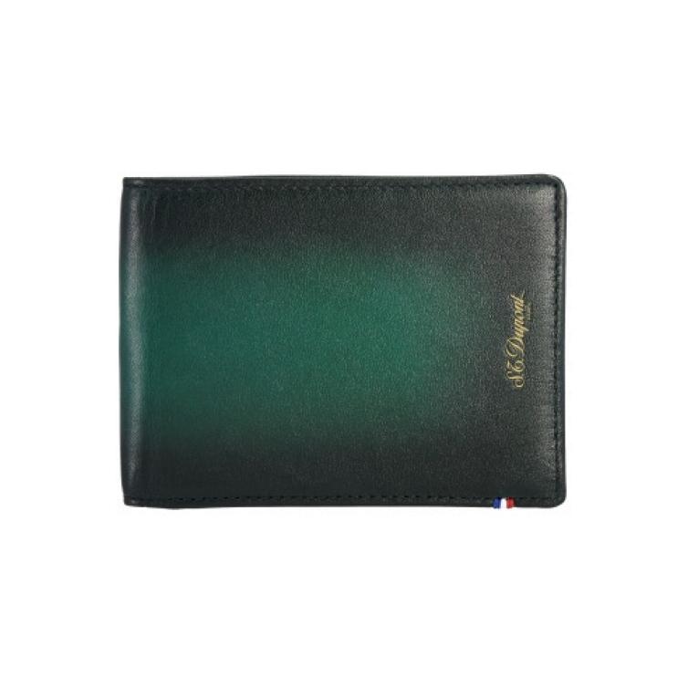 Atelier Wallet Holder Midnight Green S.T. DUPONT - 1