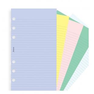 Mix Farebné Linajkové a Nelinajkové papiere pre Osobné diáre FILOFAX - 1