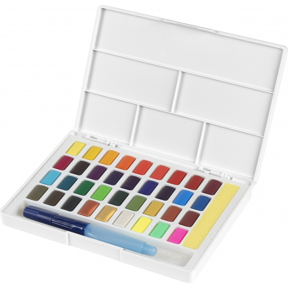 Watercolours with 36 colours FABER-CASTELL - 2