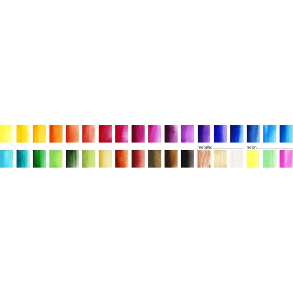 Watercolours with 36 colours FABER-CASTELL - 3