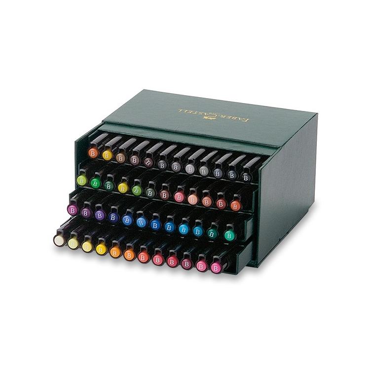 Pitt Artist Pen Brush Marker studio box 48 pcs FABER-CASTELL - 1