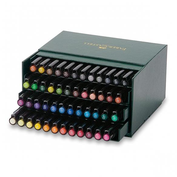 Pitt Artist Pen Brush Popisovač studio box 48 ks FABER-CASTELL - 1