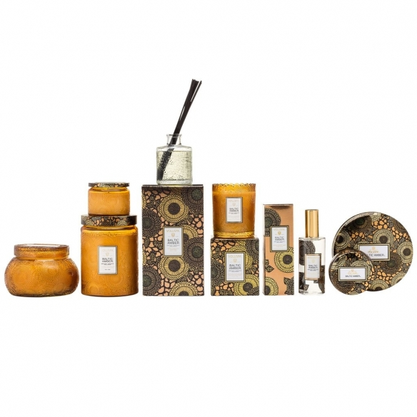 Baltic Amber Large Glass Jar Candle VOLUSPA - 4
