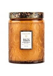 Baltic Amber velká skleněná svíčka
