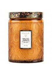 Baltic Amber veľká sklenená sviečka