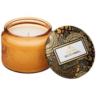 Baltic Amber Petite Glass Jar Candle VOLUSPA - 1