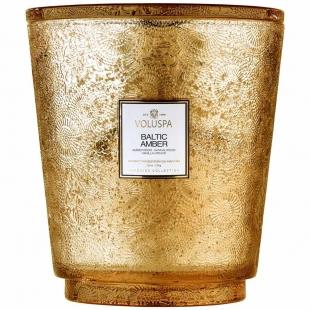 Baltic Amber kozubová sklenená sviečka VOLUSPA - 1