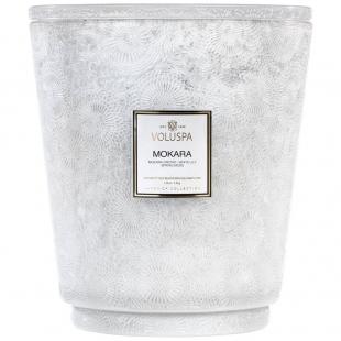 Mokara kozubová sklenená sviečka VOLUSPA - 1