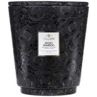 Moso Bamboo 5 Wick Hearth...