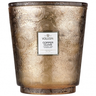 Copper Clove 5 Wick Hearth Candle VOLUSPA - 1