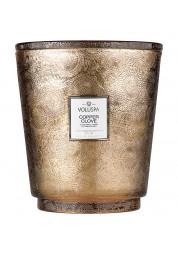 Copper Clove 5 Wick Hearth Candle
